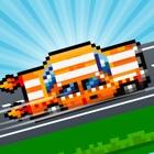 Hoppy Car Racing Free Classic Pixel Arcade Games icon