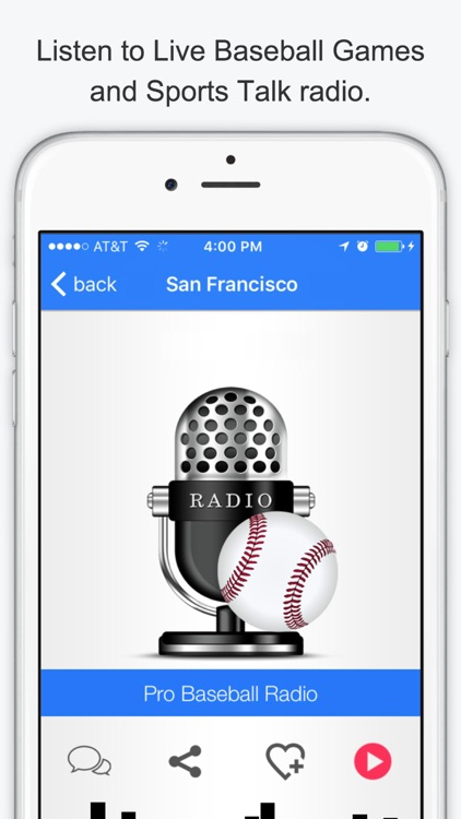 GameDay Pro Baseball Radio - Live Playoff Games, Scores, Highlights, News, Stats, and Schedules screenshot-2