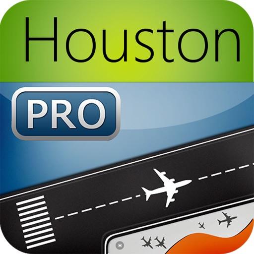 Houston Airport Pro (IAH/HOU) Flight Tracker Hobby
