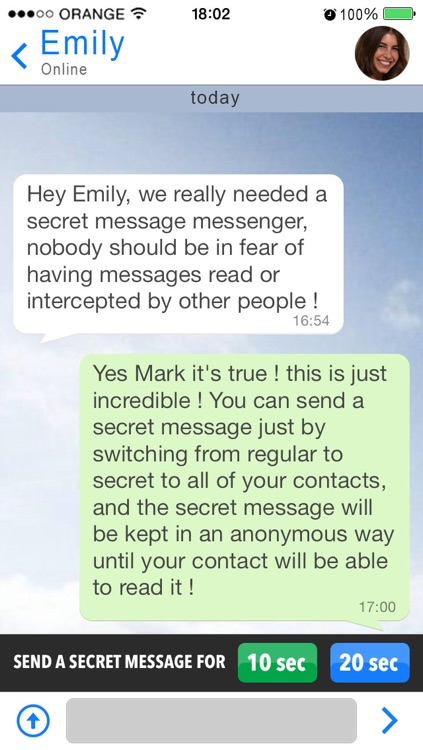 Secret Message Messenger