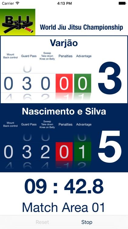 BJJ Scoreboard screenshot-4