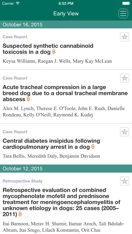 Journal of Veterinary Emergency and Critical Care screenshot-3