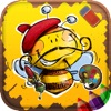 Coloring Pages for Kids - Fun Games for Girls & Boys - iPhoneアプリ