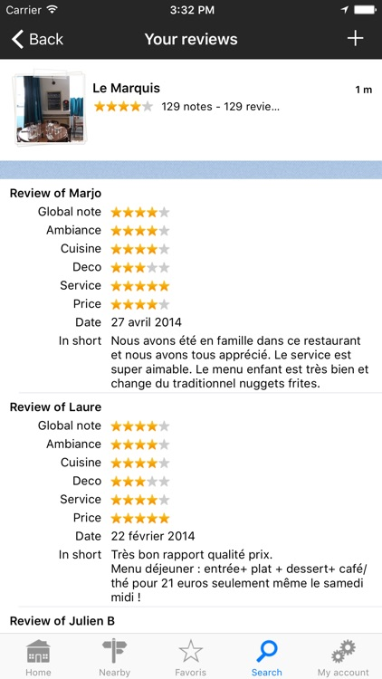 French restaurants, the restaurant guide by L'Internaute screenshot-4