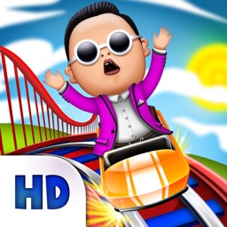 PSY Gentleman Style Roller Coaster Race – Gangnam Edition Racing Game HD
