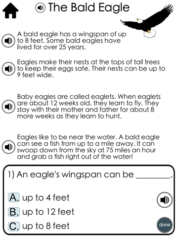 Reading Comprehension Passages with Multiple Choice Questions ~ Guided  Reading Levels G & H   App Price Drops