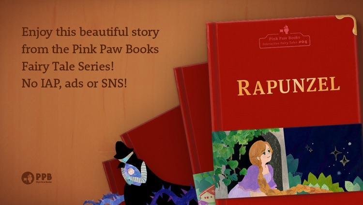 Rapunzel - Pink Paw Books Interactive Fairy Tale Series screenshot-4