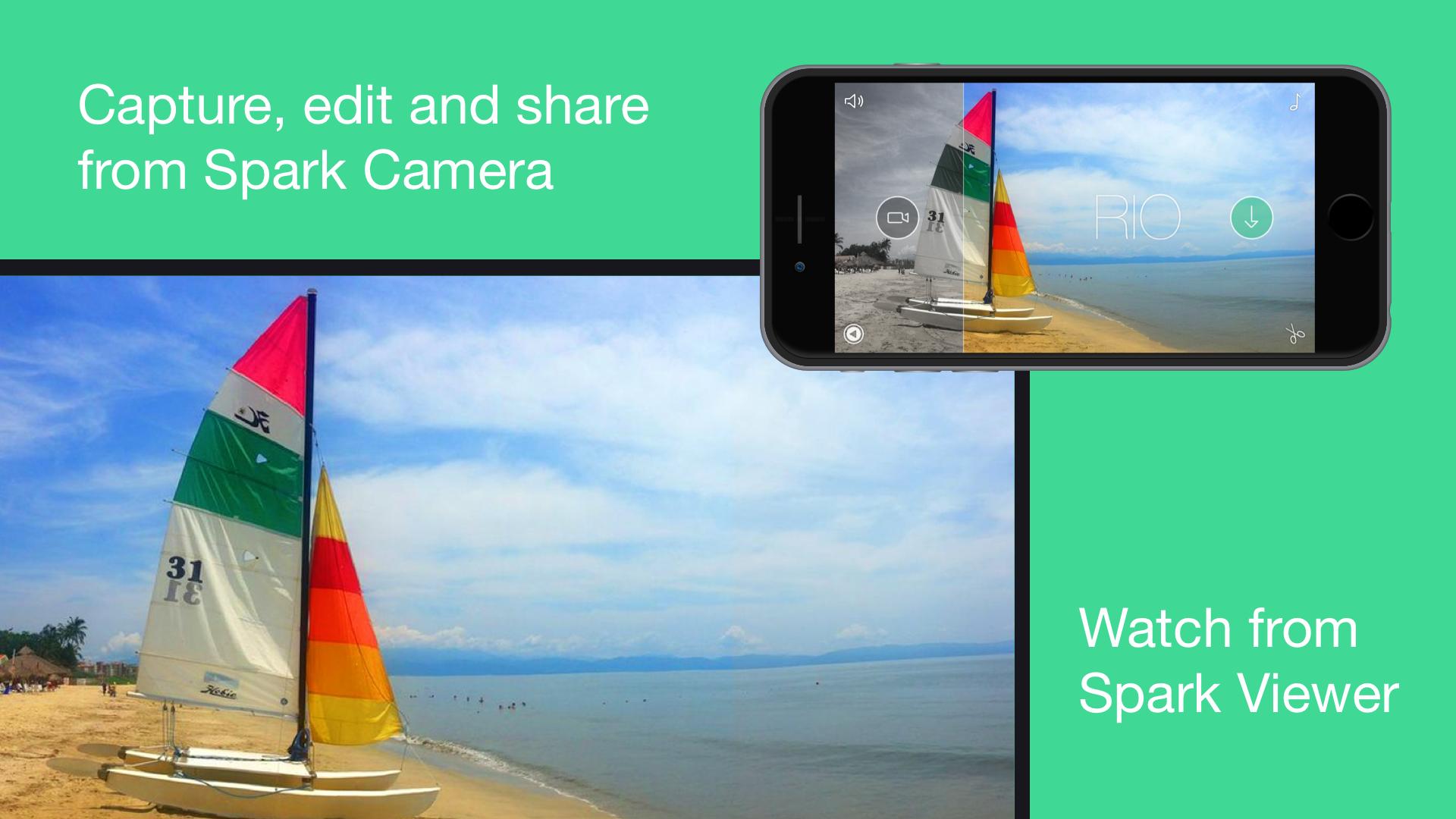 Spark Camera – capture, edit and share beautiful videos screenshot 15