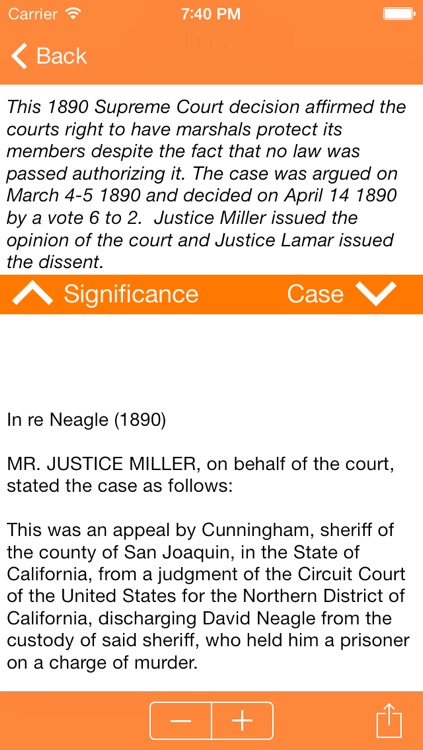 Historic Supreme Court Decisions screenshot-2