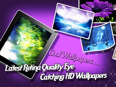 Cool & Retina Backgrounds Скриншоты7