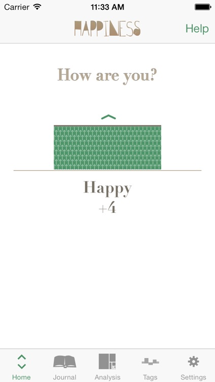 Happiness - Mood Tracking Journal