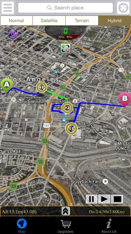 Driving Route Finder screenshot-3
