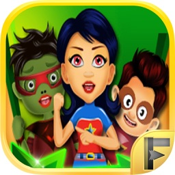 Superhero Art Tattoo Maker & Design Salon - Free Games For Kids