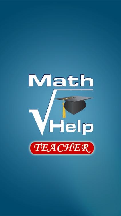 Math Help Services - Teacher App by Teaching Solutions Software Inc.