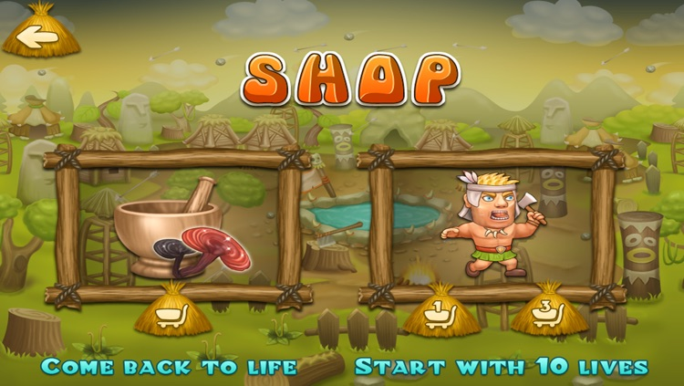 Running Clash Warrior - Escape from Village Archers Free Game screenshot-4
