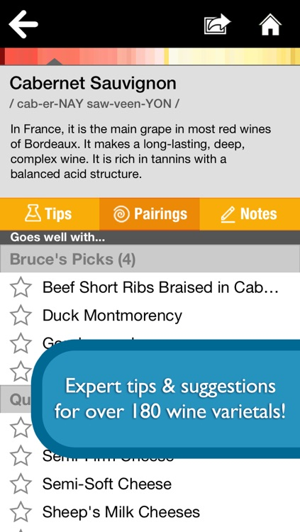 Pair It! - Food and Wine Pairings