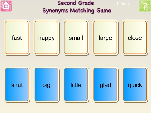 First Grade And Second Grade Antonyms And Synonyms Free On The App Store