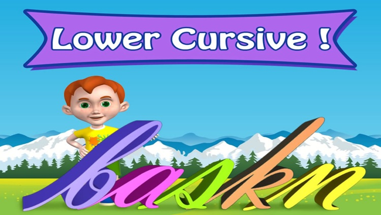 Cursive Lower Case S - Autism Series