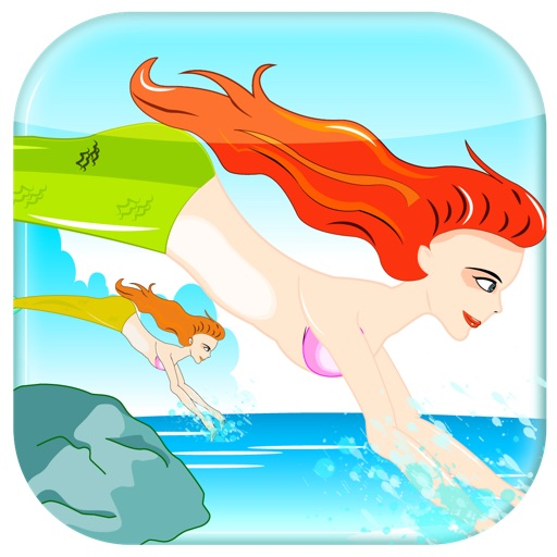 Little Mermaid Swimming Race - Marine Flapper Speedy Dash Frenzy Free iOS App