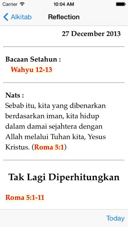 Alkitab screenshot-4