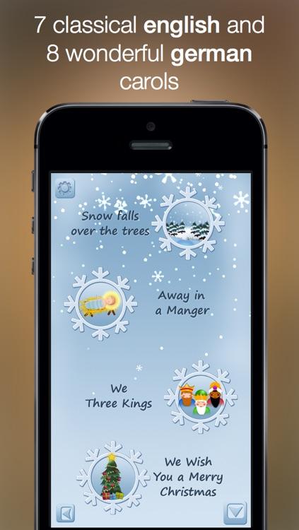 Christmas Music - studio recorded songs to sing along and karaoke screenshot-4