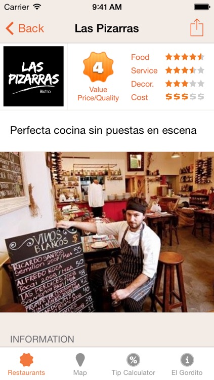 Gordito: Top 100 Buenos Aires Restaurants