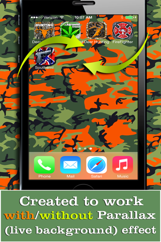 Camo Yo Screen! - Camouflage screenshot 3