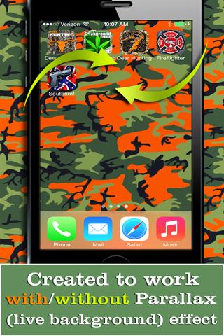 Camo Yo Screen! - Camouflage screenshot 3