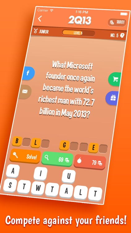 2013 QUIZ - A Free Trivia Game About The Past Year screenshot-3