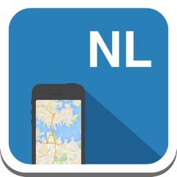 Netherlands & Amsterdam offline map, guide, weather, hotels. Free GPS navigation.
