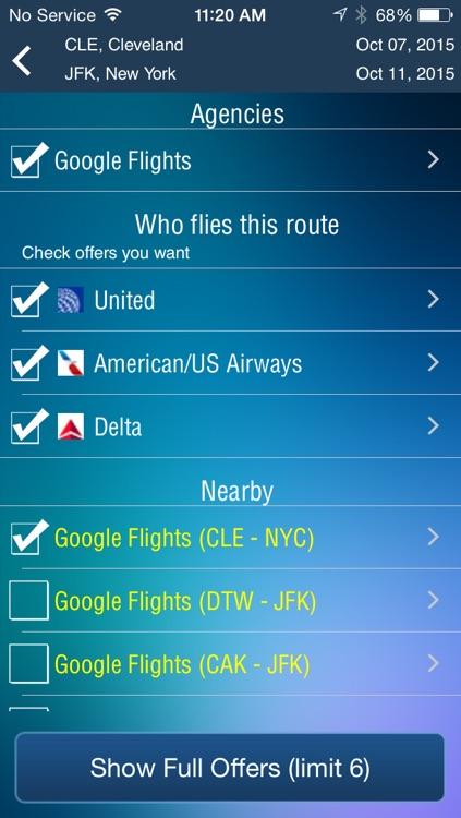 Cleveland Airport (CLE) Flight Tracker Hopkins screenshot-3