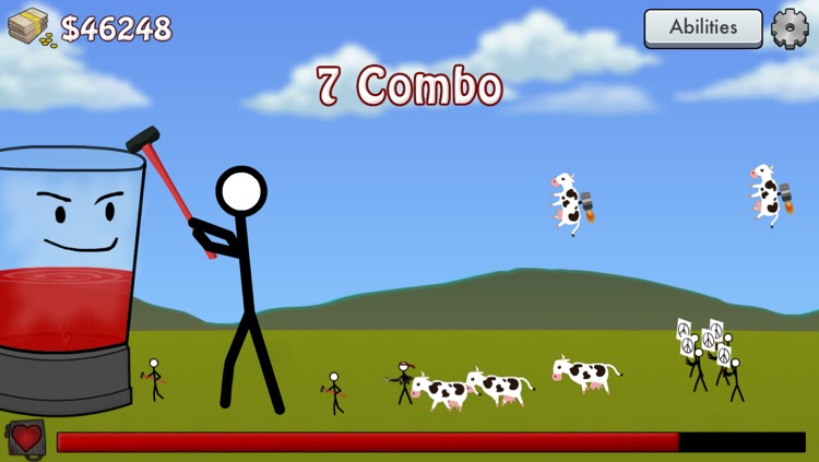 Stick Blender Free: Stickman Defense