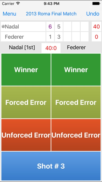 Tennis Stats Analysis Pro screenshot-1