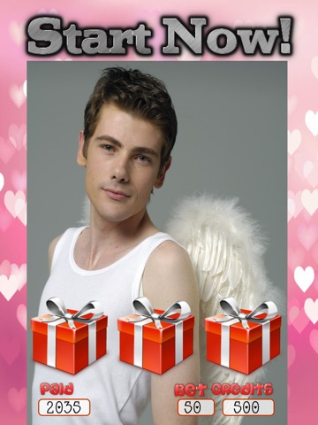 Amour Angel Slots: Sex-y Hot Guy Casino Games for Valentines Day 2014-ipad-4