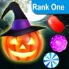 トリックオアヒーローズ佐賀トリート - ハロウィンキャンディのための簡単なマッチ3ゲームを - iPhoneアプリ