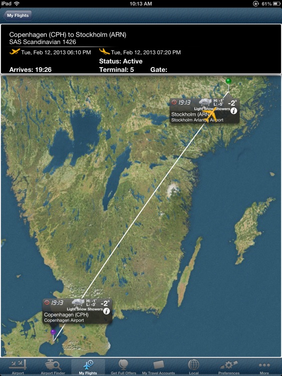 Copenhagen Airport +Flight Tracker CPH