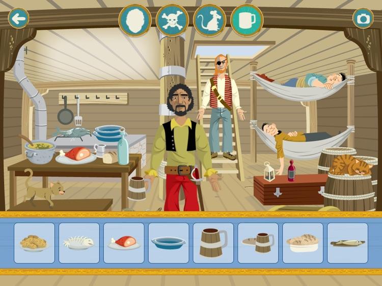 Usborne Sticker Dressing Pirates screenshot-4