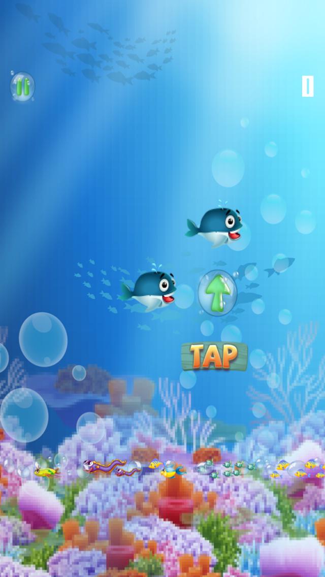 ゆるい - フィンクジラゲーム A Flappy-Fins Whale Gameのおすすめ画像2