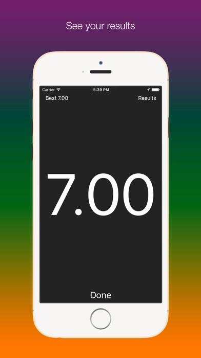 Screenshot #7 for SpeedUp - Acceleration test 0-100 kmh 0-60 mph