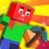 Action Craft World Block Builder - Mine Mini Heads Game