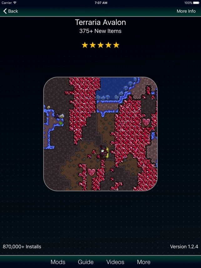 Mods for terraria on the app store mods for terraria on the app store gumiabroncs Image collections
