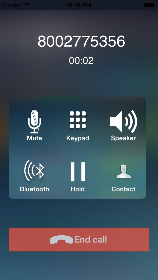 CallTime - Cheap US & Canada Phone Callのスクリーンショット2