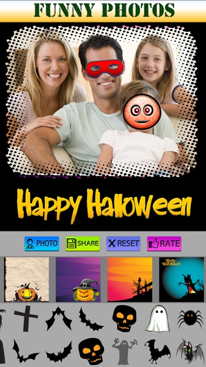 Halloween Greeting Cards and Stickers screenshot-4