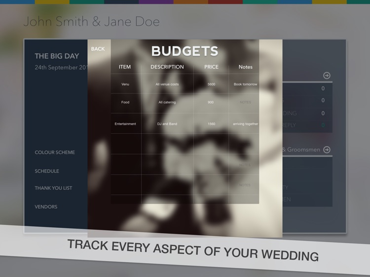 Wedding Planner. screenshot-2