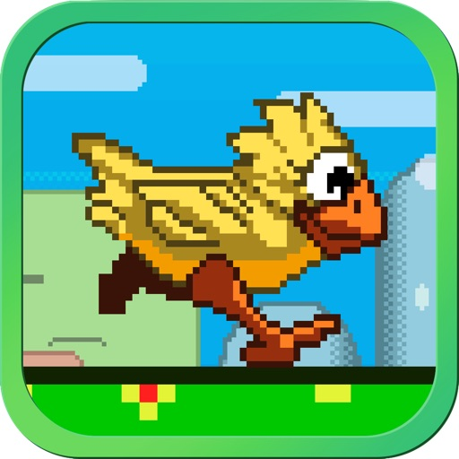 Flappy Run - Impossible Tiny Jump-y Bird Adventure Racing Multiplayer Free by Top Crazy Games