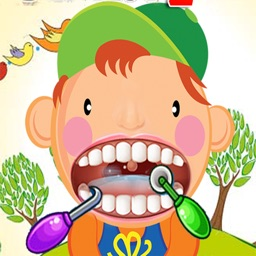 Crazy Dentist Doctor Office - Happy Christmas Kids Games Free