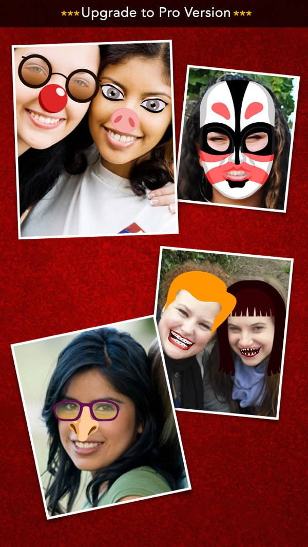 FunnyFaces - Create Funny Effects & Share