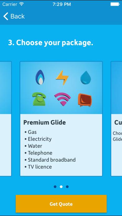 Glide – Bills made simple screenshot two