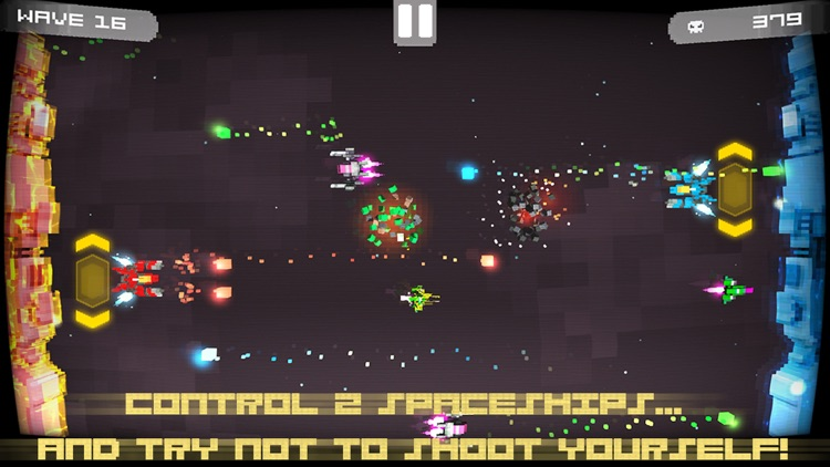 Twin Shooter - Invaders screenshot-3