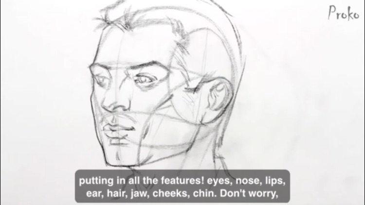Master Class How To Draw Portraits screenshot-3